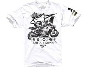 Alpinestars T-shirt Lorenzo Rockstar white