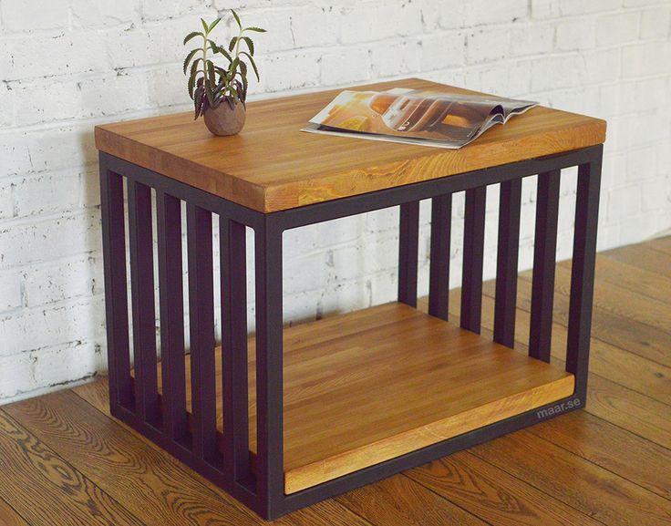Loft coffeetable and nightstand. Кофейный столик в стиле лофт. Дизайнерский прикроватный столик.
