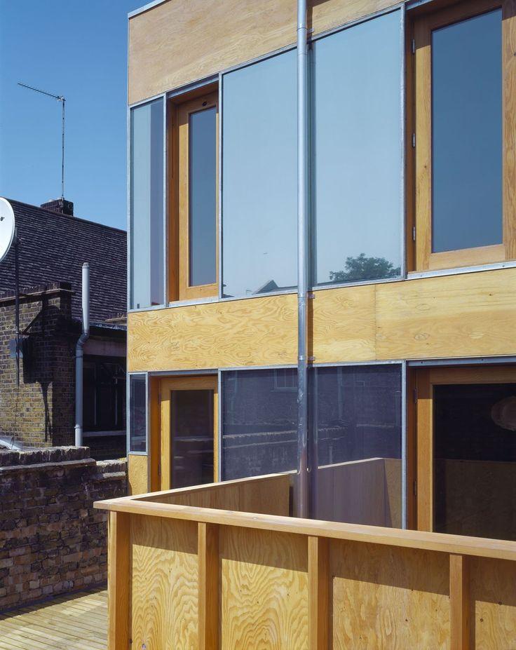 a f a s i a: Sergison Bates Architects, Hackney Studio House
