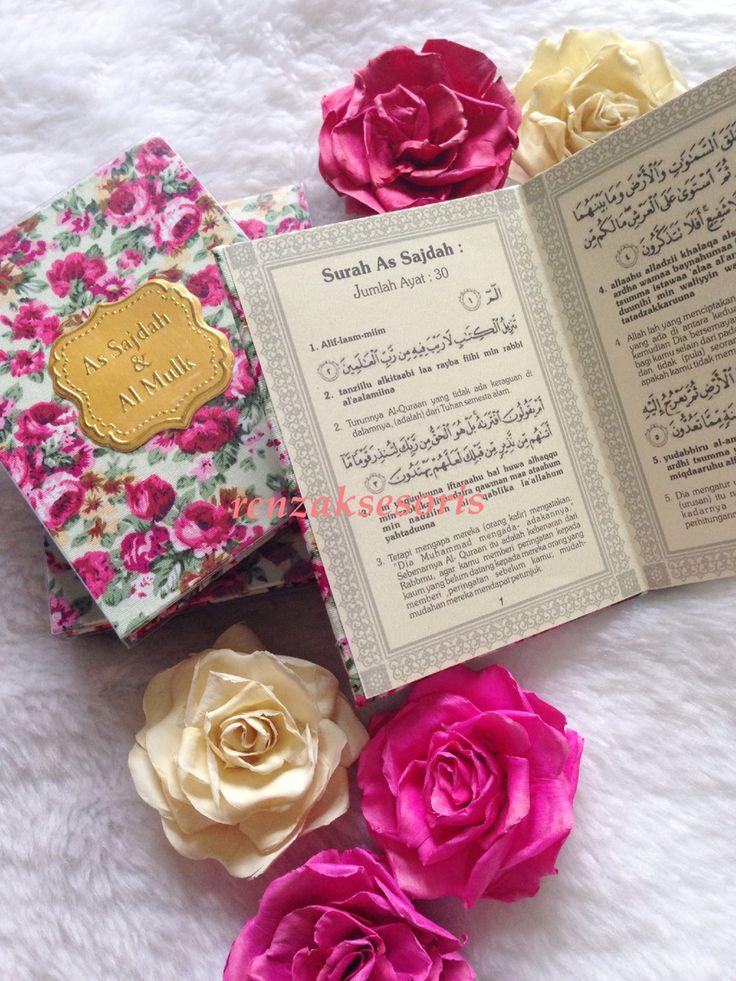 As Sajdah & Al Mulk ( the shabby series )