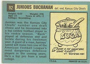 Buck Buchanan - 1964 Topps #92