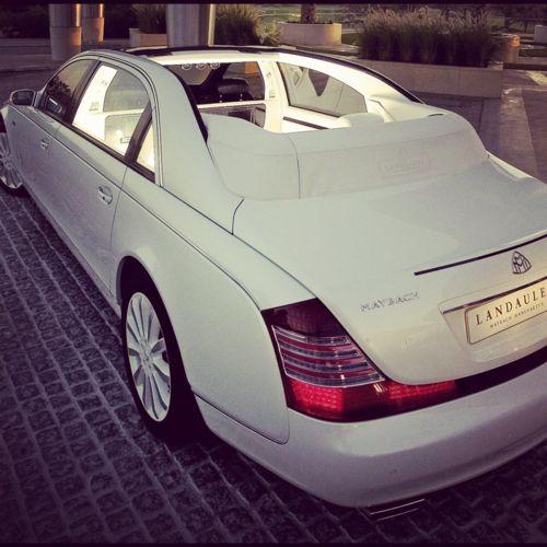 OMG. Maybach LandauletMaybach Landaulet, Sports Cars, Fashion Style, Maybach 62, Luxury Cars, Cars Riding, Girls Weekend, Getaways Cars, Dreams Cars