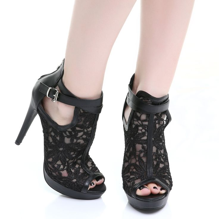 Zapatos Góticos con Encaje | Crazyinlove España