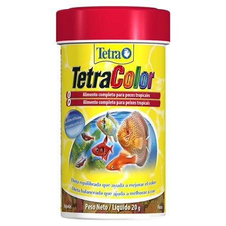 Ração Tetra para Peixes Tropicais Coloridos Color Flakes Granules - Meuamigopet.com.br #peixe #fish #sea #mar #ocean #oceano #meamigopet