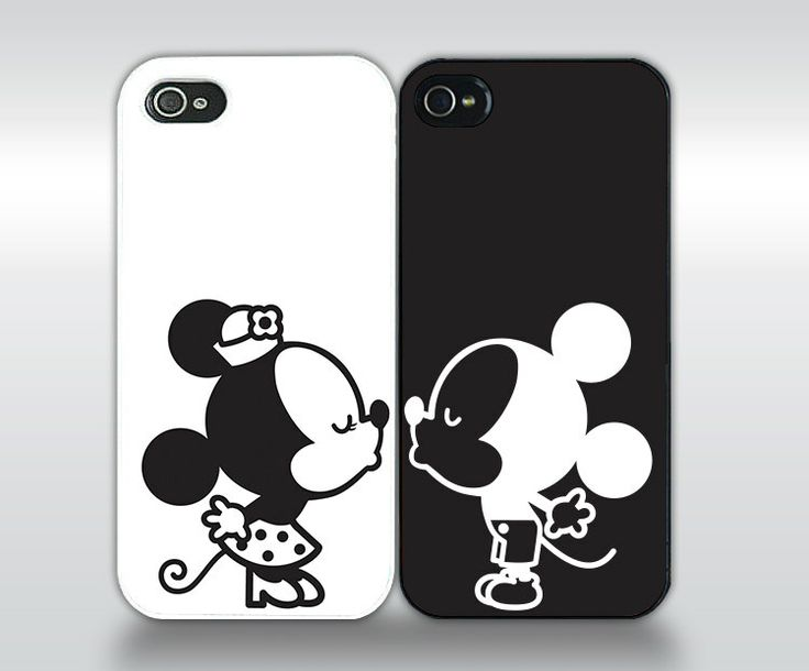 Couple+Kissing++Matching+Phone+Case+Set+by+studioNdesigns+on+Etsy,+$24.95