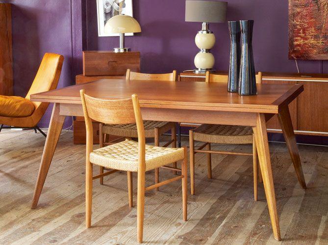 Les 25 meilleures id es de la cat gorie table en teck sur for Table exterieur 120x70