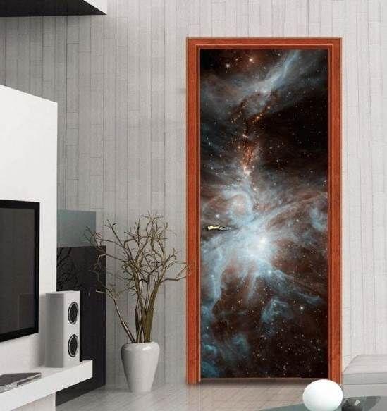 diy customiser une porte inspiration d co. Black Bedroom Furniture Sets. Home Design Ideas