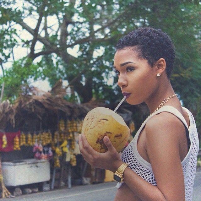 TWA. Short natural hair. Afro hair. Short and stylish natural hair. Big chop. www.addisonrenee.com#naturalhair