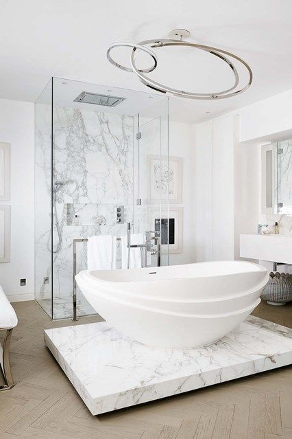 Discover the best design ideas for bathrooms on HOUSE   design  food and travel by. 17  images about Bathrooms on Pinterest   Freestanding bath