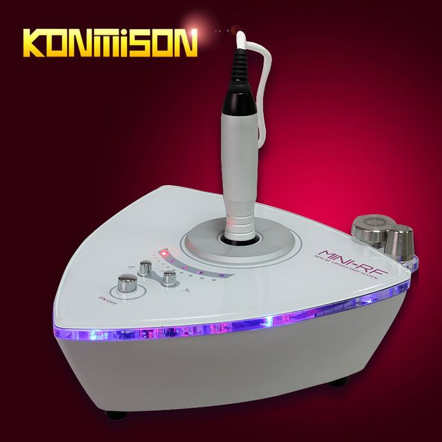 Look what I found Via Alibaba.com App: - Radio frequency facial machine for home use 2 in 1 for face lift eyes bag removal