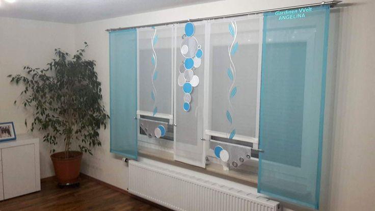 Gardinen - Moderne Schiebegardinen!!!!!! - ein Designerstück von GardinenWeltANGELINA bei DaWanda