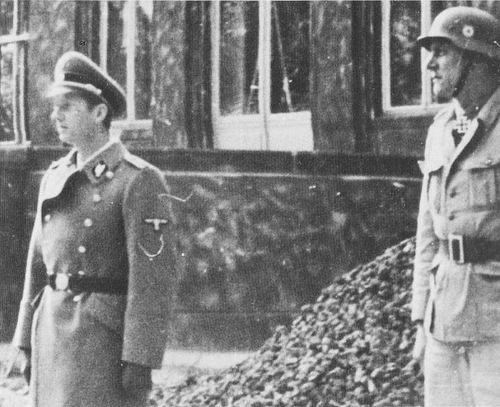 Walter Schellenberg and Otto Skorzeny