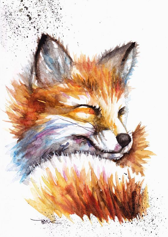 Fox ,Wall Art,home decor,Nursery Wall Art,prints,nursery decor,gift for women,gift,illustration,Painting,Original Art,art prints,Nursery Art p p