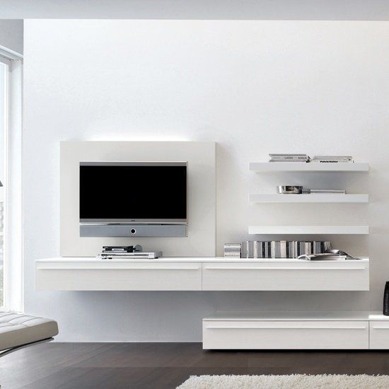 1000 images about tv media wall on pinterest bespoke Floating Desks Wall Mounted Building Floating Wall Shelves