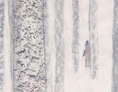 """TO THE LAKE | illustrations"" http://on.be.net/1MjEvjn"