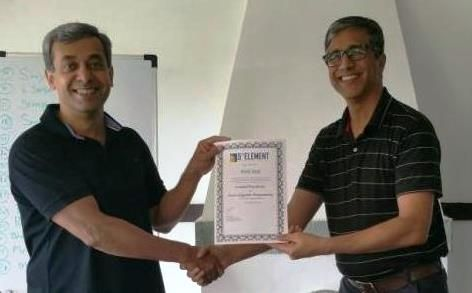 Congratulations Amol Saoji, Senior Leadership - Retail Industry, on receiving your Prestigious NLP Practitioner certification.  #NLP #Training from Anil Dagia in #Mumbai, #Pune ( #India ) #ICF #NLP #PRACTITIONER #DUAL #Certification #Life #Coach Training  FEB #Pune - http://www.anildagia.com/training-calendar/icf-certification/anil-dagia-s-icf-nlp-practitioner-dual-certification-training-feb-2017-pune