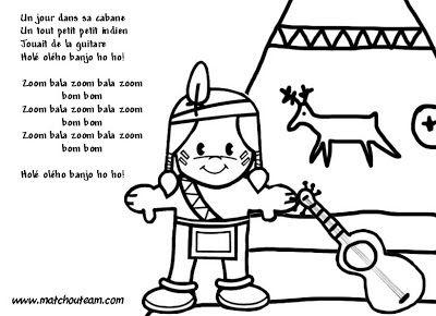 comptine illustrée indien