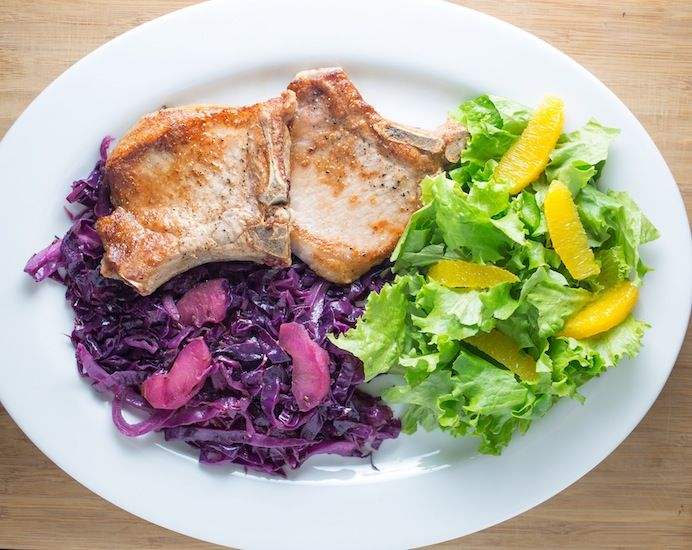 Pork Chops with Red Cabbage — The Perfect Winter-Warming Meal ...
