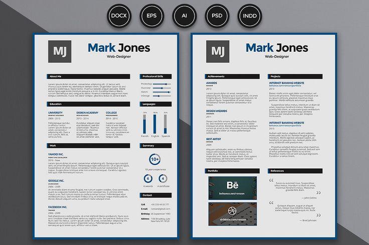 Resume / CV - Mark - Resumes