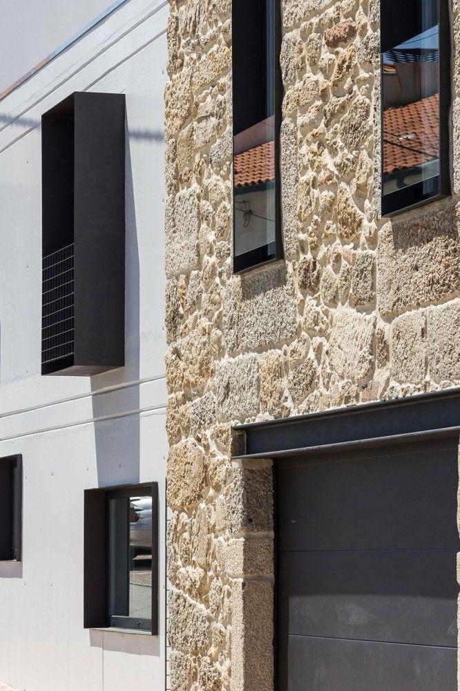 casa ja addition + renovation - guarda - filipi pina + maria ines costa - 2014 - photo joao morgado