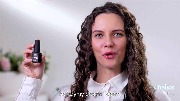 Lakiery hybrydowe SHIELD - aplikacja (nakładanie) produktu Kinetics