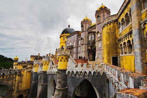 Palacio da Pena, a UNESCO World Heritage Site    Sintra, Portugal