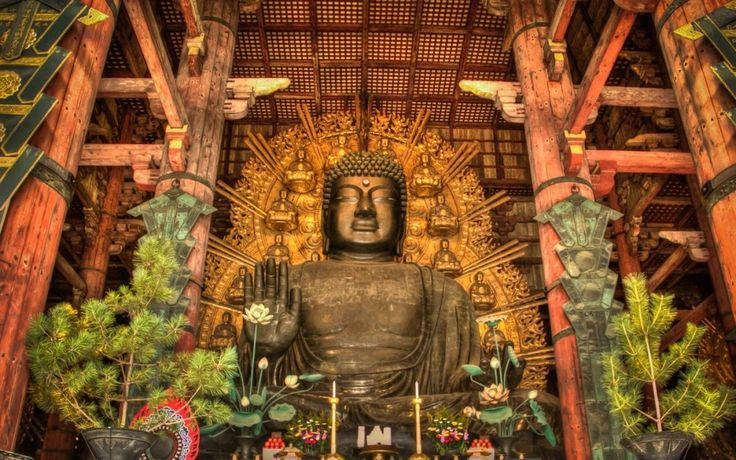 Nara, Great Buddha Vairocana, Todai-ji Japan