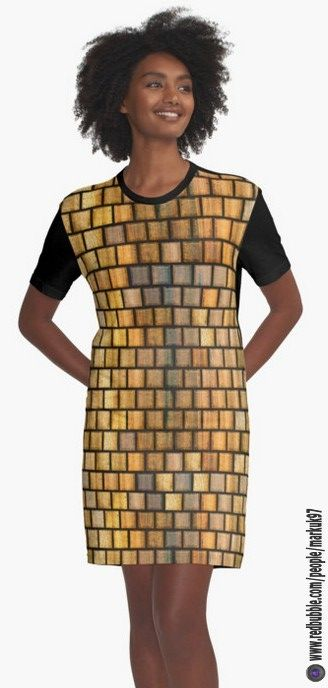 Wooden Distressed Block Tile Pattern Graphic T-Shirt Dresses http://www.redbubble.com/people/markuk97/works/25127336-wooden-distressed-block-tile-pattern?asc=t&p=graphic-t-shirt-dress via @redbubble