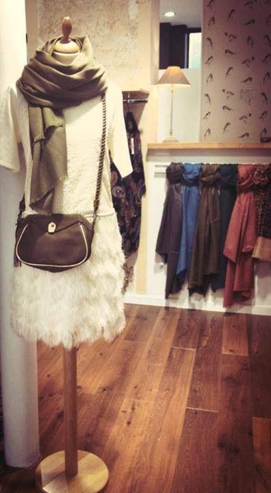 20's white dress by see u soon - chez Anne et Marion Paris