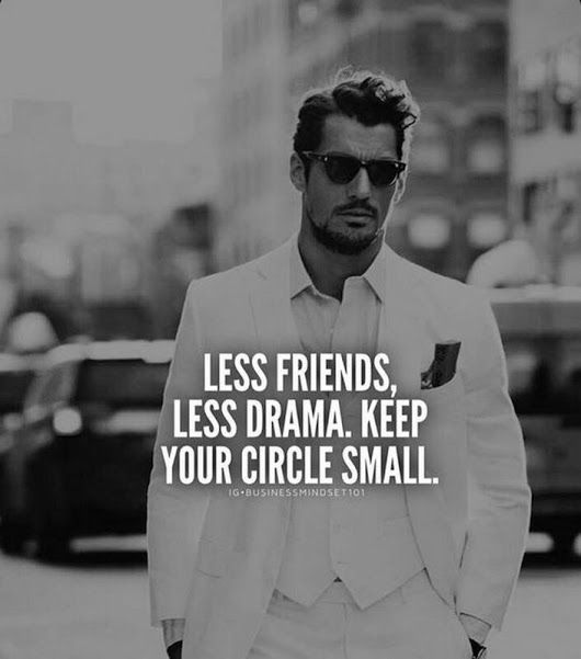 Keep your circle small