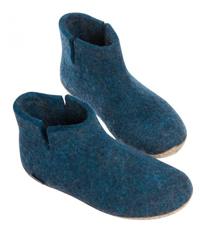 Glerups ankelstøvle - 100% naturlig uld (39)