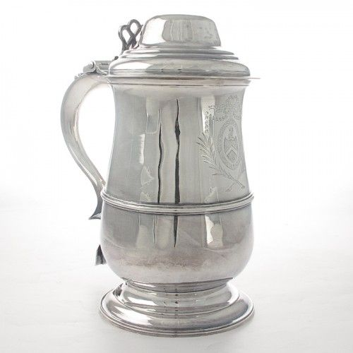 An Antique silver Tankard by Hester Bateman. Hallmarked London 1788. #Rutherford #Melbourne