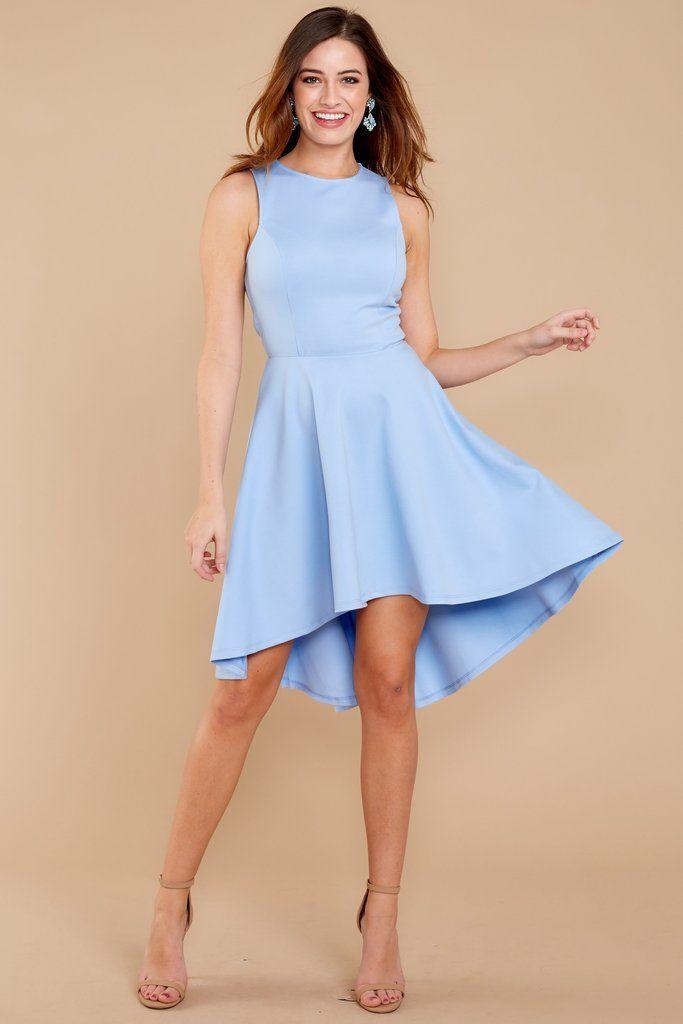 560c935eb4b Adorable High Low Dress - Cute Periwinkle Dress - Dress -  42.00 – Red Dress  Boutique