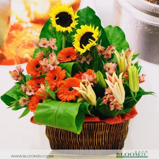 From Online Flower gift baskets to fresh fruit, and jewelry, we have gift basket ideas for every occasion & taste. We deliver flowers throughout Subang Jaya, Petaling Jaya, KL & Malaysia #gift baskets Malaysia #gift baskets KL