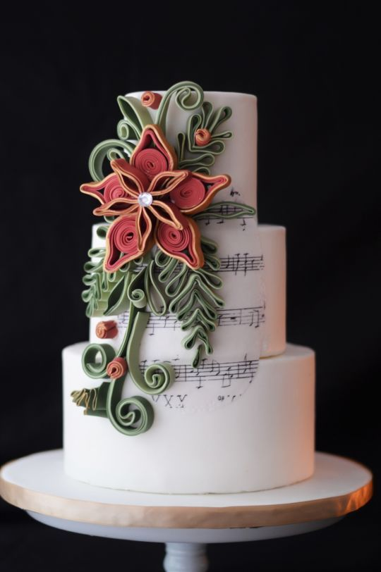 101 best images about Quilled cakes on Pinterest ...