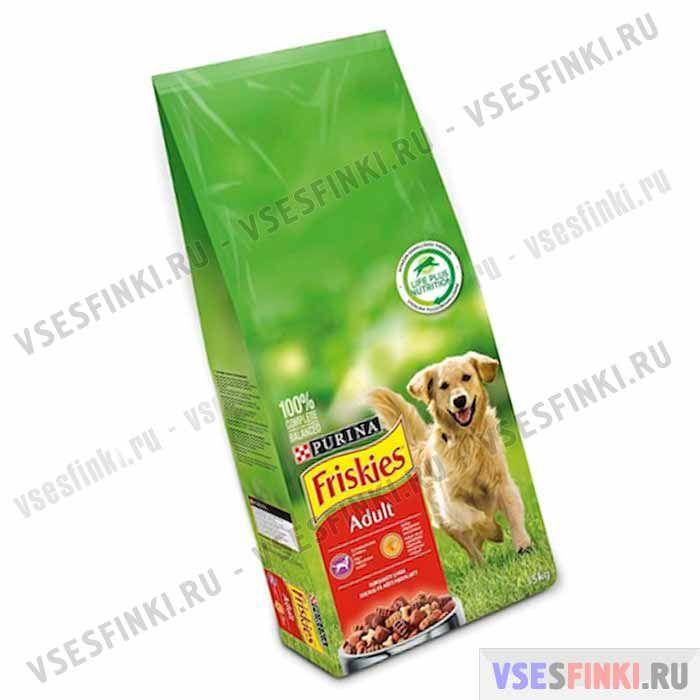 Корм Friskies (Мясо) для взрослых собак 15 кг