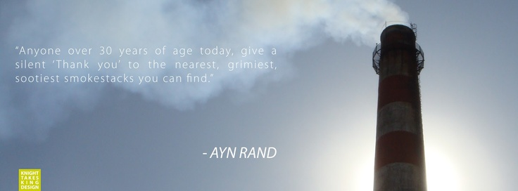 ayn rand cover photo quote industry knight takes king design