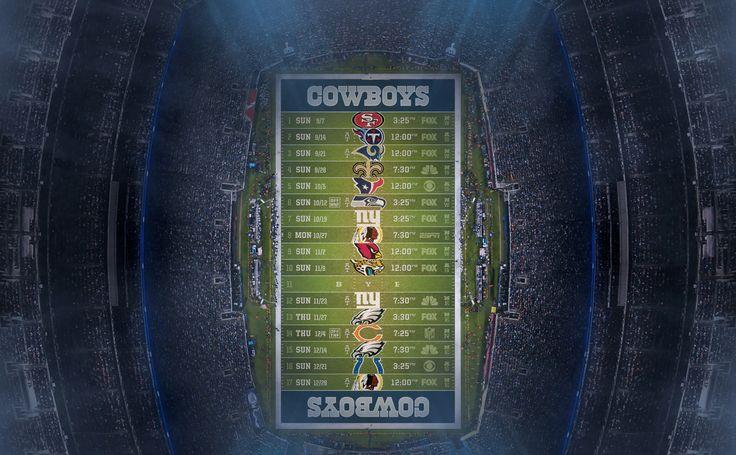 dallas cowboys 2014 nfl schedule wallpaper