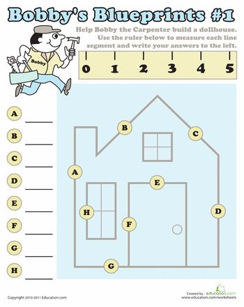 Worksheets: Measuring