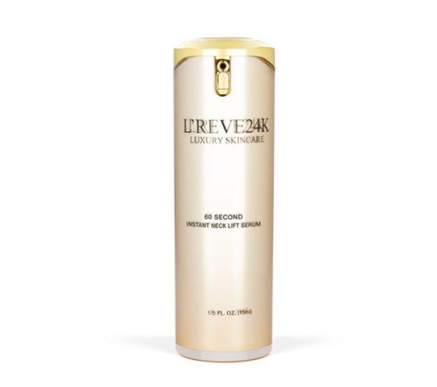 L'reve 24K Luxury Skincare 60 Second Instant Face Lift Serum 1/5 fl oz. / 15ml #LReve24K