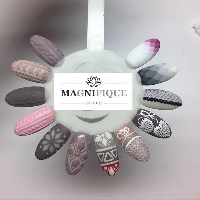 Winter nails Strick Muster paznokcie sweterki wzorki wzornik zimowe #xmasnails #wzorkiswiateczne #wzorkiświąteczne #christmasnails #paznokcieswiateczne #sweterki #strickmuster #strickmusternailart #wzornik #wzornikpaznokci #wzorkireczniemalowane #wzorkinapaznokcie #nails2inspire #winternails
