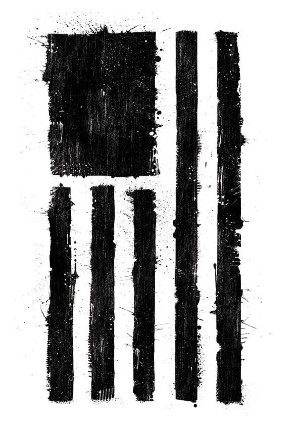 Ink'd Black Flag.