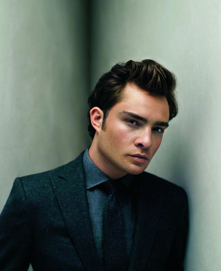 Ed Westwick- mysterious, charismatic, and a killer sense of style when he wants to.