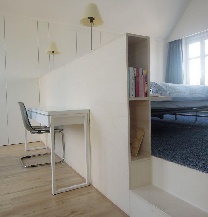 25 beste idee n over zolder verbouwing op pinterest afgewerkte zolder zolderberging en for Slaapkamer op de zolderfotos