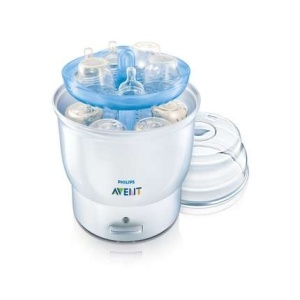 Buy Philips Avent SCF274/31 Electric Steam Steriliser : • Just add water, load and switch on • Holds up to six Philips AVENT Bottles • Extra protection through natural steam sterilisation • Contents remains sterile for up to 6 hours if unopened • Contents are sterile and ready to use in approx. 8 minutes