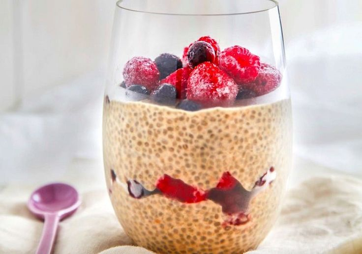 Read our delicious recipe for Choc-Berry Chia Pudding, a recipe from The Healthy Mummy, which will help you lose weight with lots of healthy recipes.