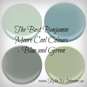the best benjamin moore colours colours blues and greens - Kylie M Interiors