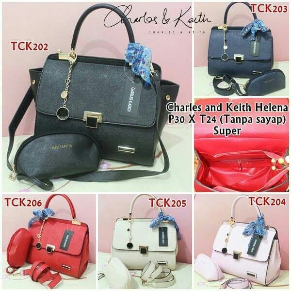 Charles and Keith Helena set dompet Rp 195.000,- only fast respon : bbm. 56BC8F19 || line. rumah hijab (pakek @)