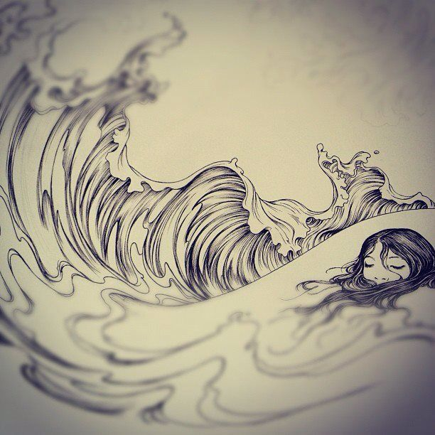 41 best Man of Sorrows images on Pinterest | Savior ...Waves Drawing Tattoo