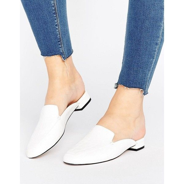 fast delivery popular brand lower price with womens shoes white mules shoes